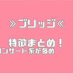 ≫ブリッジ≪ 特徴まとめ!【イベント・コンサートスタッフ 派遣バイト】