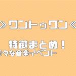 ≫ワントゥワン≪ 特徴まとめ!【イベント・コンサートスタッフ 派遣バイト】